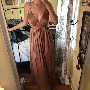 Laundry by design rose gold long formal dress